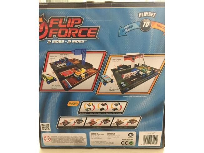 Flip Force 0543 Set 2 Piste 2 Veicoli On Patrol / Ready To Roll Mac Due