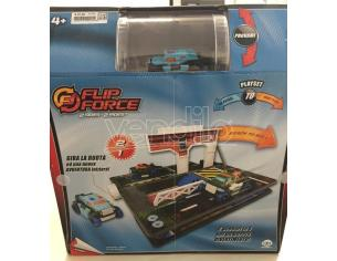 Mac Due 0543 Flip Force Playset 2 piste 2 veicoli On Patrol to Ready To Roll