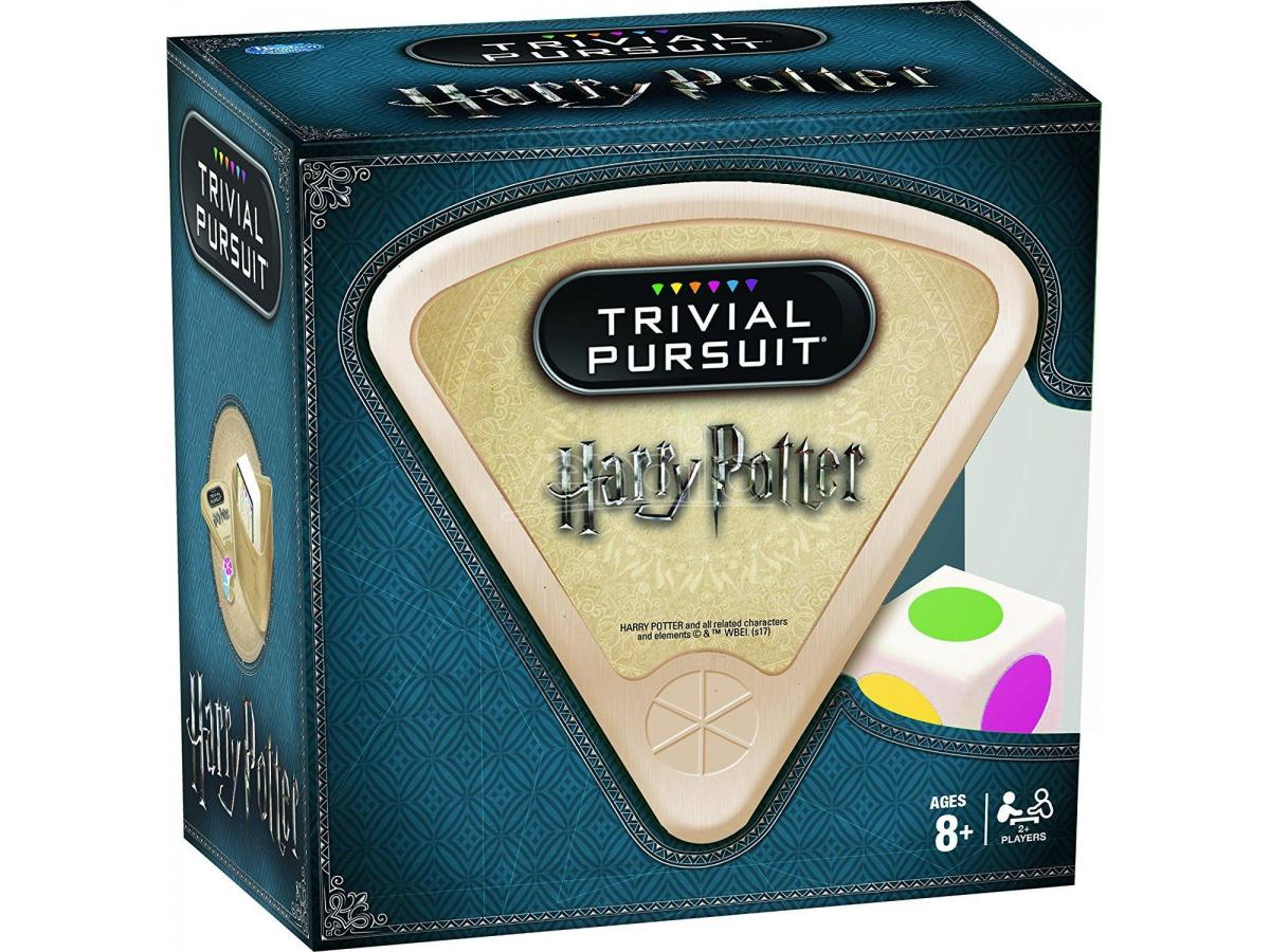 Gioco da Tavolo Trivial Pursuit Harry Potter Inglese scatola Ita Winning Moves