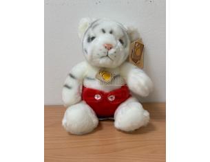 Cuccioli Amici Nappy 15794 Tigre bianca seduta Plush Company peluche