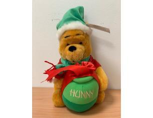 Disney Winnie The Pooh Natalizio Natale 22 cm Peluche