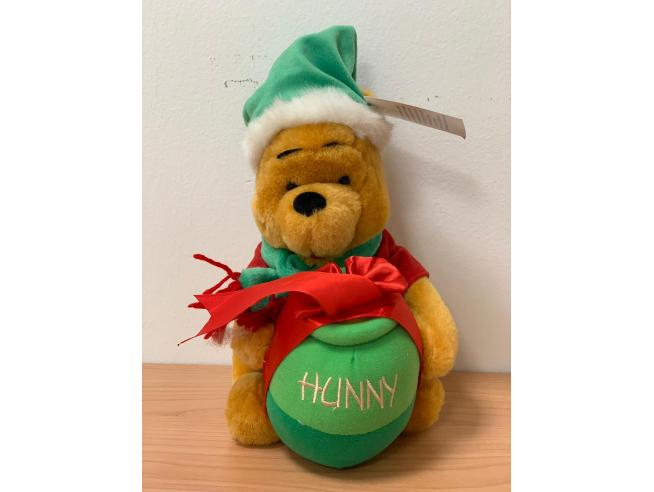 Disney Winnie The Pooh Natale Natale 22 cm Peluche