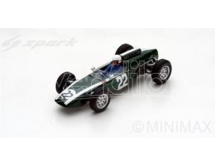 Spark Model S5292 COOPER T60 MARIO DE ARAUJO CABRAL 1963 N.22 DNF GERMAN GP 1:43 Modellino