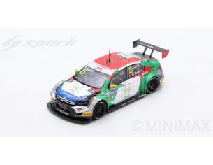 Spark Model SA158 CITROEN C-ELYSEE WTCC N.25 WINNER Rd.1 MACAU GUIA RACE 2017 M.BENNANI Modellino