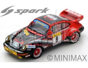 Spark Model SG016 PORSCHE 911 RSR N.8 24 H NURBURGRING 1993 ROHRL-BARTH-MEMMINGER-MULL. Modellino