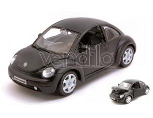 Maisto MI31975Z VW NEW BEETLE BLACK 1:24 Modellino