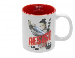SD TOYS SW EP VIII REY RESIST WHITE-RED MUG TAZZA