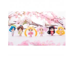 MEGAHOUSE SAILOR MOON PETIT CHARA CHERR B FEST SET MINI FIGURA