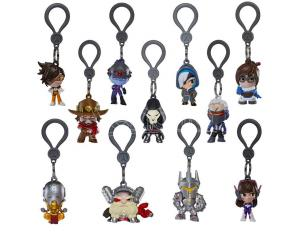 GAYA ENTERTAINMENT OVERWATCH BACKPACK HANGERS DISPLAY (24) PORTACHIAVI