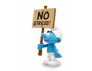 PLASTOY SMURF NO STRESS SIGN STATUA