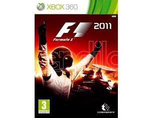 F1 2011 GUIDA/RACING - XBOX 360 Confezione danneggiata