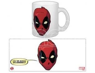 Tazza Deadpool Gonna Die ceramica  Marvel Universe Semic