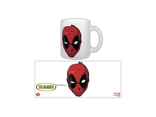 Tazza Deadpool Gonna Die ceramica  Marvel Universe Semic