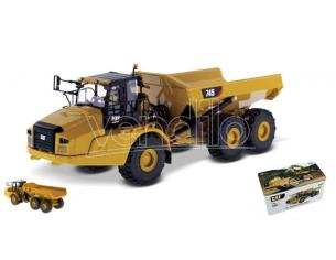 Diecast Master Dm85528 Cat 745 Articolato Truck 1:50 Modellino