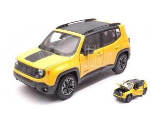 Welly WE24071Y JEEP RENEGADE 2014 YELLOW 1:24-27 Modellino