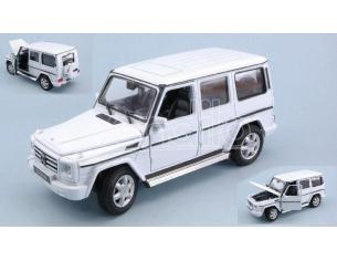 Welly WE24012W MERCEDES G-CLASS WHITE 1:24-27 Modellino