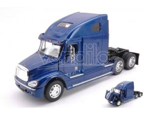 Welly WE32620BL CAMION FREIGHTLINER COLUMBIA METALLIC BLUE 1:32 Modellino