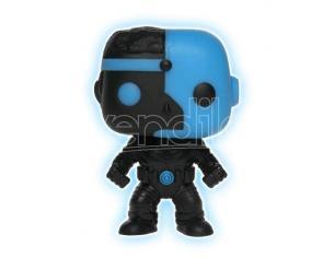 Funko Justice League POP Movies Vinile Figura Cyborg Silhouette GITD Esclusiva