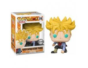 Dragon Ball Super Funko POP Vinile Figura Super Saiyan Trunks Futuro 9 cm Esclusiva