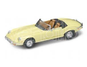 Hot Wheels LDC94244Y JAGUAR E TYPE CABRIO 1971 LIGHT YELLOW 1:43 Modellino