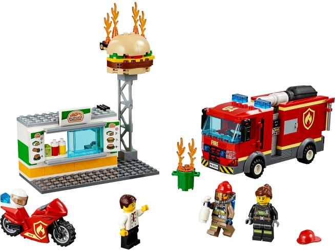 LEGO CITY FIRE 60214 - FIAMME AL BURGER BAR