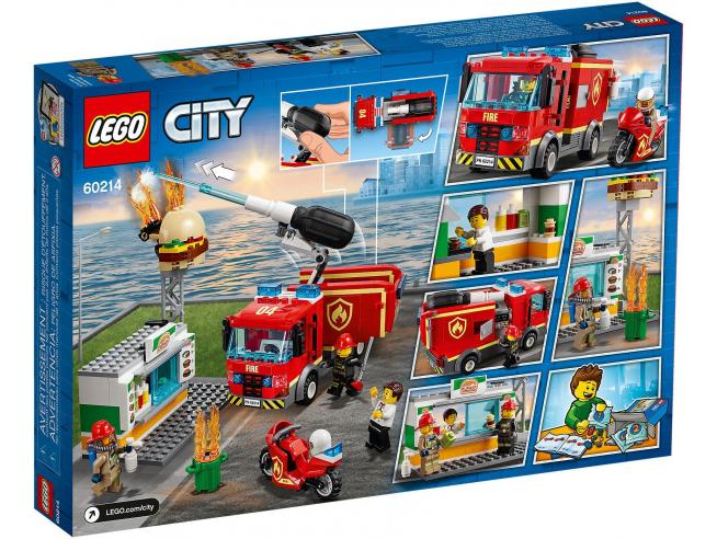 LEGO CITY FIRE 60217 - AEREO ANTINCENDIO