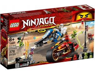 LEGO NINJAGO LEGACY 70667 - MOTO-LAMA DI KAI E MOTO-NEVE DI ZANE