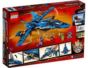 LEGO NINJAGO LEGACY 70668 - IL JET DA COMBATTIMENTO DI JAY