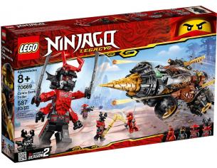 LEGO NINJAGO LEGACY 70669 - LA TRIVELLATRICE DI COLE