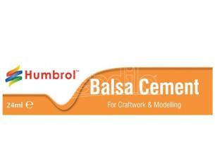 Humbrol HBAE0603 BALSA CEMENT COLLA IN TUBETTO 24 ml Modellino