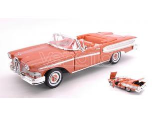 Hot Wheels LDC92298BR FORD EDSEL CITATION CONVERTIBLE 1958 LIGHT METALLIC BROWN 1:18 Modellino
