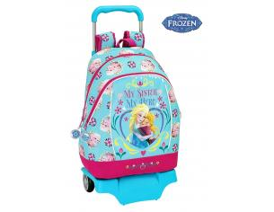Zaino trolley scuola Frozen Rucksack with wheels (big) 33x42x14 cm Safta