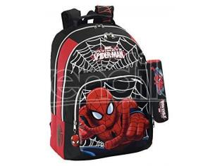 Zaino Zainetto scuola palestra piscina Spider-Man Safta 32 x 16 x 42