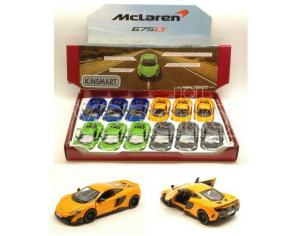 Hot Wheels KT5392D MC LAREN 675 LT 2016 1:36 Modellino
