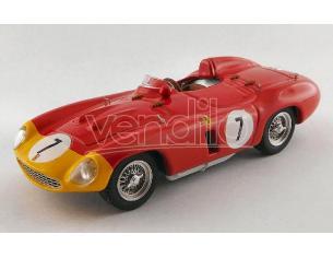Art Model AM0401 FERRARI 857 S N.7 5th 1000 KM PARIS 1956 A.DE PORTAGO-P.HILL 1:43 Modellino