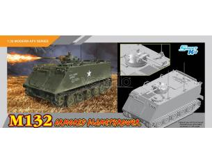 Dragon D3621 M132 ARMORED FLAMETHROWER KIT 1:35 Modellino