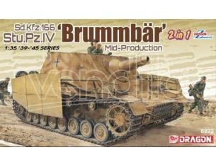 Dragon D6892 BRUMMBAR MID-PRODUCTION 2 in 1 KIT 1:35 Modellino
