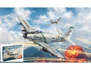 Italeri IT2788 A-1H SKYRAIDER KIT 1:48 Modellino