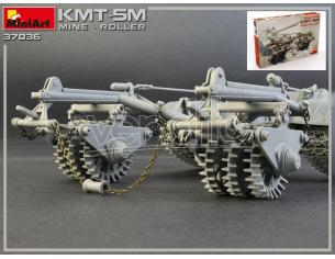 Miniart MIN37036 KMT-5M MINE ROLLER KIT 1:35 Modellino