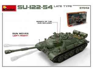 Miniart MIN37042 SU-122-54 LATE TYPE KIT 1:35 Modellino