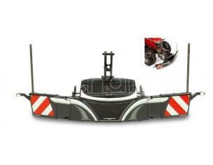 Universal Hobbies UH5348 PARAURTI DI SICUREZZA TRACTOR BUMPER SAFETYWEIGHT GREY COLOR 1:32 Modellino