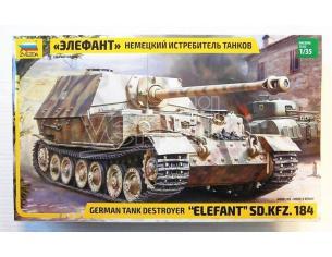 Zvezda Z3659 ELEFANT SD.KFZ.184 KIT 1:35 Modellino