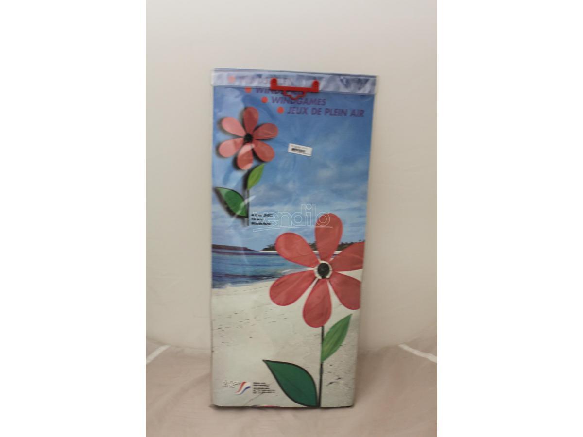 KNOOP KITES 5481 - Girandola a forma di fiore rosa