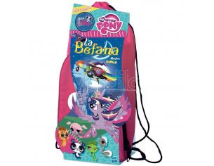 Hasbro - Zainetto La Befana Epifania My Little Pony Girls Rosa