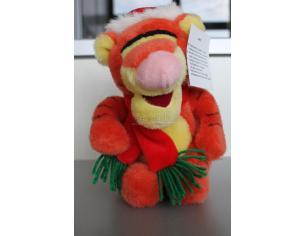 Disney Winnie The Pooh - Tigro Natalizio Natale 22 cm Peluche