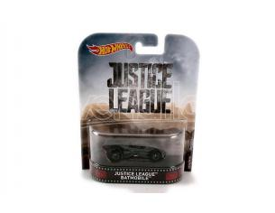Hot Wheels HWDMC55DWJ80 JUSTICE LEAGUE BATMOBILE 1:64 Modellino
