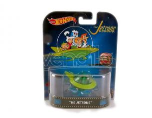 Hot Wheels HWDMC55FRF24 THE JETSON CAPSULE CAR 1:64 Modellino