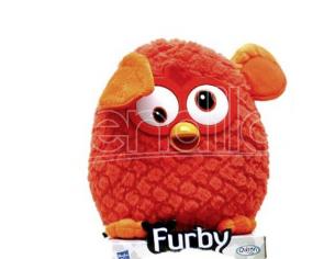 Famosa - Furby Arancione Figura Peluche 20 cm Plush