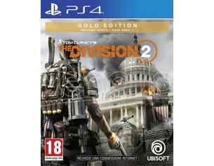 TOM CLANCY'S THE DIVISION 2 GOLD EDITION AZIONE - PLAYSTATION 4