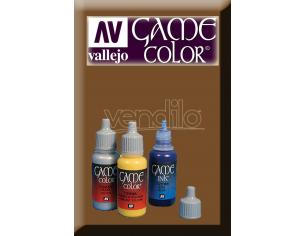 VALLEJO GAME COLOR BRASSY BRASS 72058 COLORI